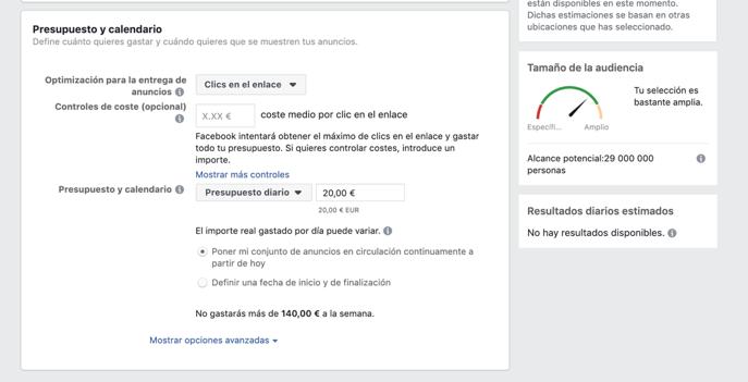 campanyes de Facebook Ads