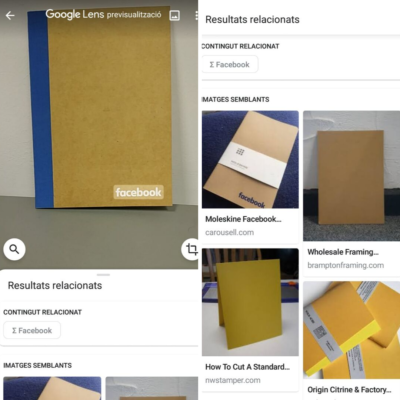 google lens images productos