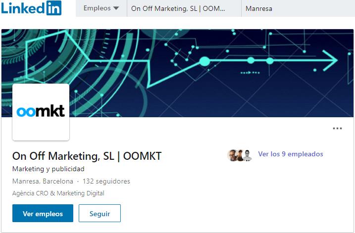 com crear pàgina d' empresa a linkedin