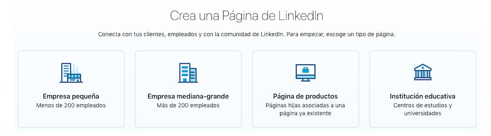crear pàgina d'empresa a linkedin barcelona