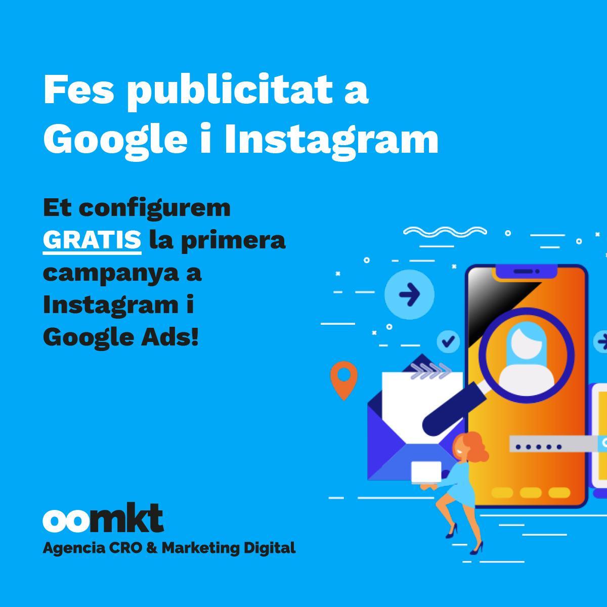 publicitat google i instagram